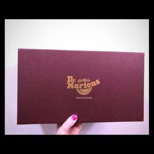 Dr Martens Airwair Shoe Box